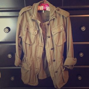 Never Been Worn!!! Free People Army Jacket size XS